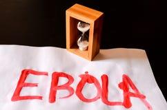 Текст Ebola слова Стоковая Фотография RF
