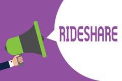 Текст Rideshare сочинительства слова  бесплатная иллюстрация