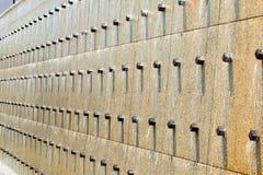 Текущая вода стены объекта Стоковые Фото