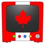 телевидение Канады иллюстрация штока