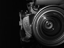 телевидение объектива стоковое изображение rf