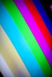 телевидение радуги цвета штанг Стоковое Изображение