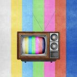 телевидение рециркулированное бумагой tv иконы корабля Стоковые Изображения RF