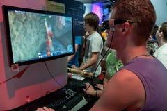 телевидение технологии 3d Стоковая Фотография