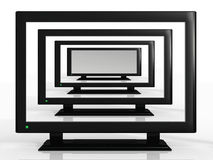 телевидения иллюстрация штока
