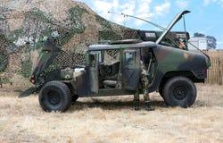 тележка армии Стоковая Фотография RF
