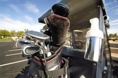 тележка бьет гольф Стоковое Изображение RF