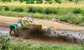 тележка гонки страны перекрестная Стоковое Фото
