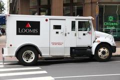 Тележка денег Loomis Стоковые Изображения