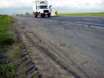 тележка дороги Стоковые Фото
