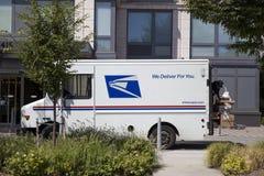 Тележка доставки почты США Стоковое Изображение RF