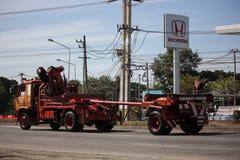 Тележка захолустной власти eletricity Таиланда стоковые изображения rf