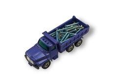 тележка игрушки винтов Стоковая Фотография