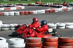 тележка идет гонка Стоковое Изображение RF