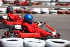 тележка идет гонка Стоковые Фотографии RF