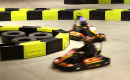 тележка идет участвовать в гонке Стоковая Фотография RF