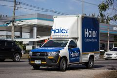 Тележка контейнера компании Haier стоковые фото