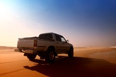 тележка пустыни Стоковые Изображения