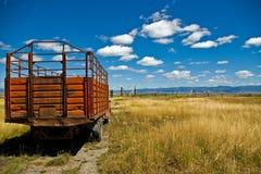 тележка ранчо Стоковые Фотографии RF