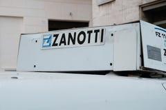 Тележка рефрижерации Zanotti стоковое изображение rf