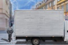 Тележка скорости доставки в центре города Стоковое Изображение