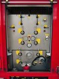 тележка спасения пожара оборудования Стоковое фото RF