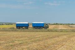 Тележка с зерном Стоковое Изображение RF