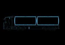 Тележка топливозаправщика Стоковые Изображения