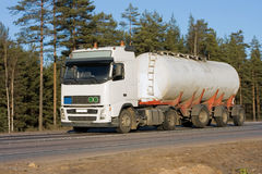 тележка топливозаправщика Стоковые Фотографии RF