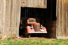 тележка фермы старая Стоковые Фото
