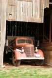 тележка фермы старая Стоковое Фото