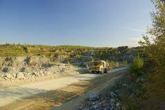 тележка шахты Стоковое Изображение
