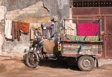 тележка moto Индии Стоковое Изображение RF