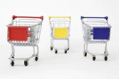 тележки ходя по магазинам 3 Стоковая Фотография RF