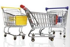 тележки ходя по магазинам 3 Стоковое фото RF