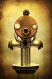 Телескоп на текстуре grunge Стоковые Фото