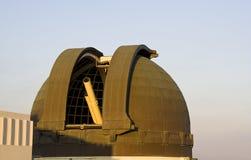 телескоп обсерватории griffith стоковое фото