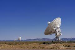 Телескоп радио VLA Стоковое Изображение
