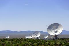 Телескоп радио VLA Стоковые Изображения RF