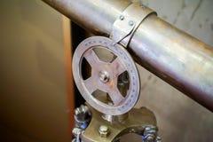Телескоп старый Стоковая Фотография
