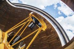 телескоп стоковое изображение rf