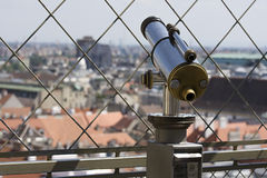телескоп стоковое фото