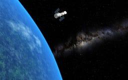 Телескоп Hubble стоковая фотография rf
