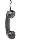телефонная трубка вися старый телефон Стоковые Фотографии RF