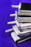 телефоны клетки старые Стоковая Фотография RF