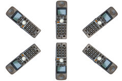 телефоны круга бесшнуровые Стоковое Изображение RF