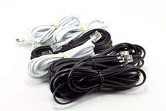 телефон кабеля Стоковое Изображение