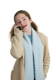 телефон клетки беседуя предназначенный для подростков Стоковые Фото