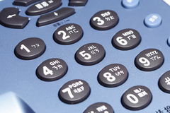 телефон кнопки Стоковое фото RF
