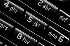 телефон кнопочной панели клетки Стоковые Изображения RF